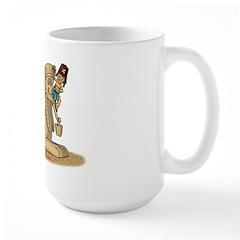 The Shrine Clown and the Sphinx Large Mug