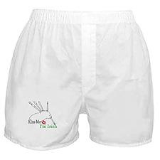 Kiss Me, I'm Irish Boxer Shorts