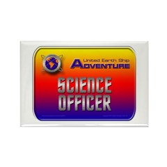 Science Officer Rectangle Magnet (10 pack)