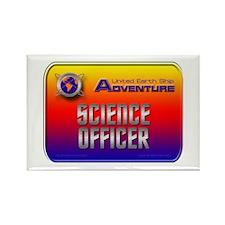 Science Officer Rectangle Magnet