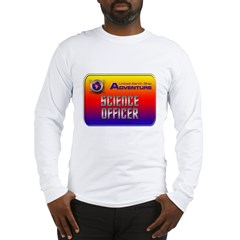 Science Officer Long Sleeve T-Shirt