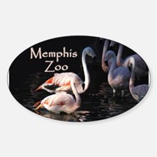 Memphis Zoo Oval Decal