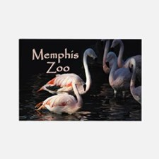 Memphis Zoo Rectangle Magnet