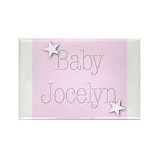 Unique Jocelyn Rectangle Magnet