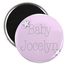 Unique Jocelyn name Magnet