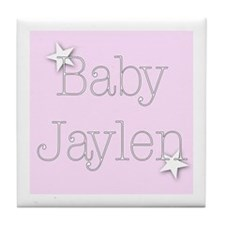Cute Jaylene Tile Coaster