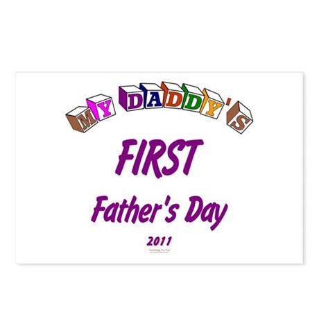 First Father's Day Postcards (Package of 8)
