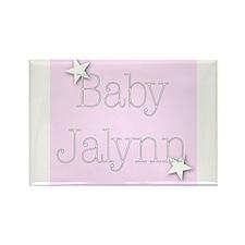 Cute Jalynn Rectangle Magnet