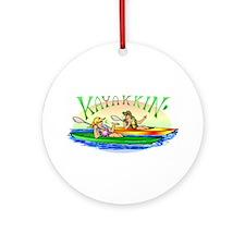 KaYakkin' Ornament (Round)
