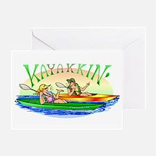 KaYakkin' Greeting Card