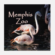 Memphis Zoo Tile Coaster