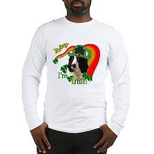 St Pats Springer Spaniel Long Sleeve T-Shirt
