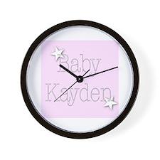 Unique Kayden Wall Clock