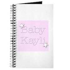 Cute Kayli Journal