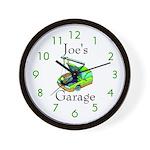 Joe's Garage Custom Wall Clock