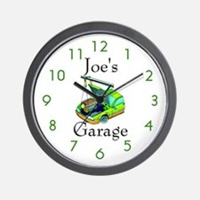 Joe's Garage Custom Wall Clock