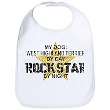 West Highland Terrier Rock Star Bib