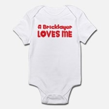 A Bricklayer Loves Me Infant Bodysuit