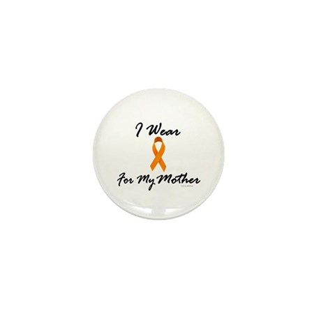 I Wear Orange For My Mother 1 Mini Button (10 pack