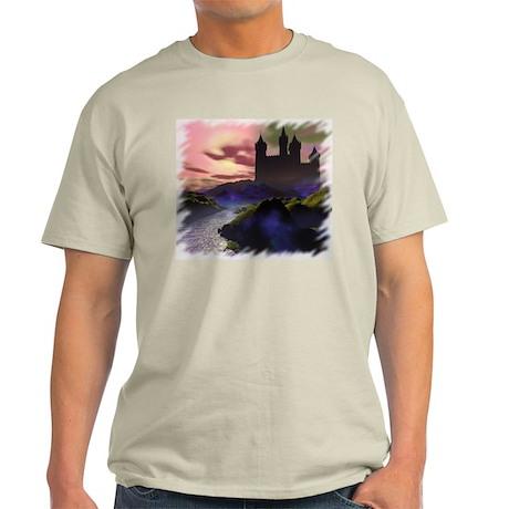Mystic Castle Ash Grey T-Shirt