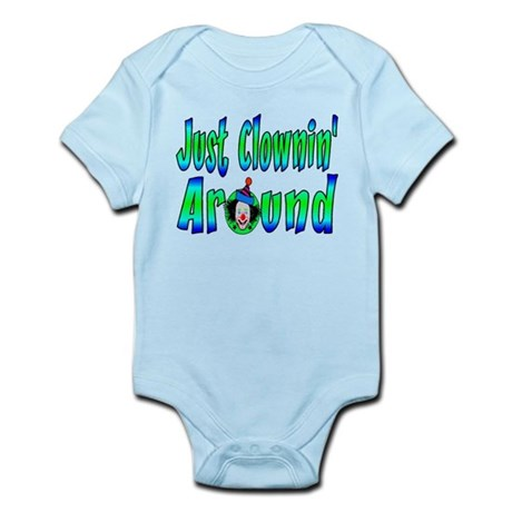 Clownin Around Infant Bodysuit