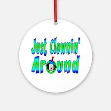 Clownin Around Ornament (Round)