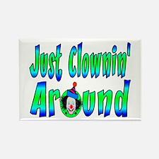Clownin Around Rectangle Magnet
