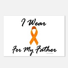 I Wear Orange For My Father 1 Postcards (Package o