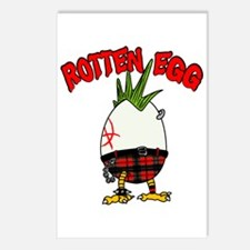 Cute Rotten egg Postcards (Package of 8)