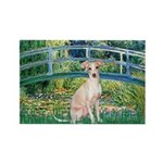 Bridge / Ital Greyhound Rectangle Magnet