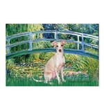 Bridge / Ital Greyhound Postcards (Package of 8)
