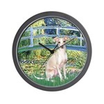 Bridge / Ital Greyhound Wall Clock