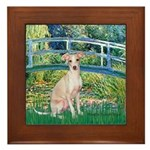 Bridge / Ital Greyhound Framed Tile