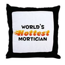 World's Hottest Morti.. (B) Throw Pillow