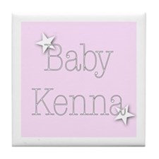 Cute Kenna Tile Coaster