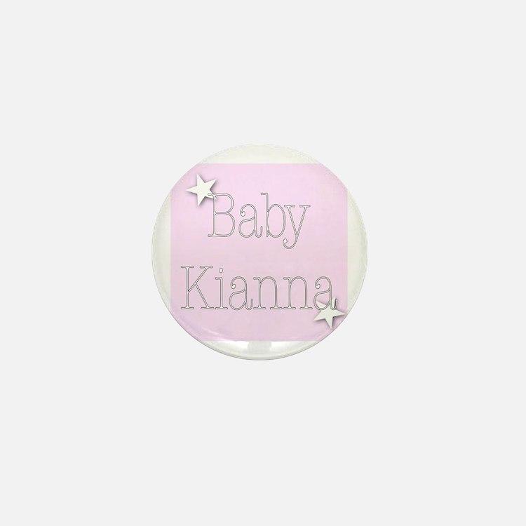 Cute Kianna Mini Button