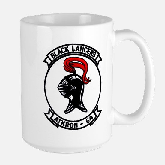 VA 64 Black Lancers Large Mug