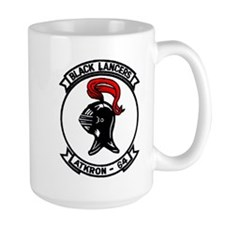 VA 64 Black Lancers Mug