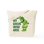 Kiss My Green Irish Arse Tote Bag