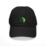 Kiss My Green Irish Arse Black Cap