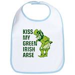 Kiss My Green Irish Arse Bib