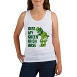 Kiss My Green Irish Arse Women's Tank Top