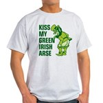 Kiss My Green Irish Arse Light T-Shirt