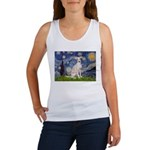 Starry Night / Ital Greyhound Women's Tank Top