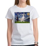 Starry Night / Ital Greyhound Women's T-Shirt