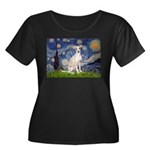 Starry Night / Ital Greyhound Women's Plus Size Sc