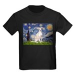 Starry Night / Ital Greyhound Kids Dark T-Shirt
