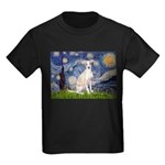 Starry Night / Ital Greyhound Kids Dark T-Shirt