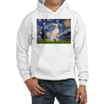 Starry Night / Ital Greyhound Hooded Sweatshirt