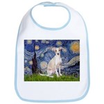 Starry Night / Ital Greyhound Bib
